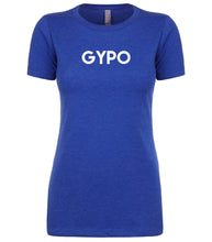 Load image into Gallery viewer, blue gypo womens crewneck t shirt