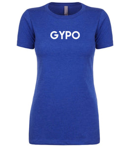 blue gypo womens crewneck t shirt