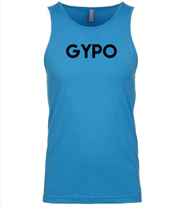 blue gypo mens tank top