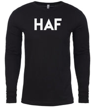 Load image into Gallery viewer, black haf mens long sleeve shirt
