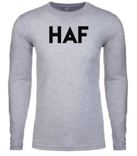 Load image into Gallery viewer, grey haf mens long sleeve shirt