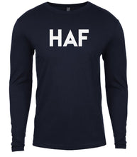 Load image into Gallery viewer, navy haf mens long sleeve shirt