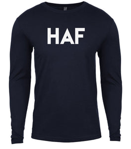 navy haf mens long sleeve shirt
