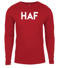 Load image into Gallery viewer, red haf mens long sleeve shirt
