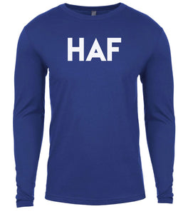 blue haf mens long sleeve shirt