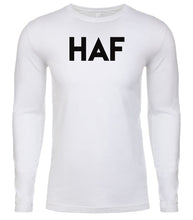 Load image into Gallery viewer, white haf mens long sleeve shirt