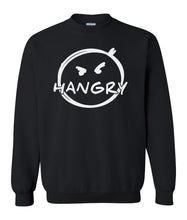 Load image into Gallery viewer, black hangry sweatshirt