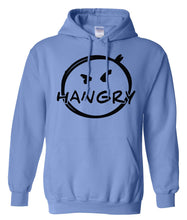 Load image into Gallery viewer, blue hangry pullover hoodie