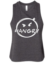 Load image into Gallery viewer, dark grey hangry cropped tank top