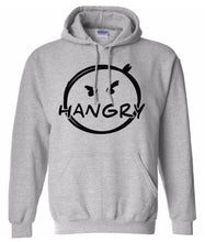 Load image into Gallery viewer, grey hangry pullover hoodie