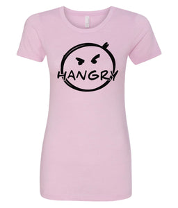 pink hangry women's crewneck t shirt
