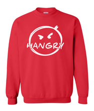 Load image into Gallery viewer, red hangry sweatshirt