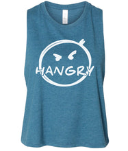 Load image into Gallery viewer, teal hangry cropped tank top