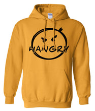 Load image into Gallery viewer, yellow hangry pullover hoodie