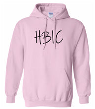 Load image into Gallery viewer, pink HBIC hooded sweatshirt for women