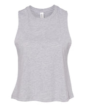 Load image into Gallery viewer, grey crop top tank top