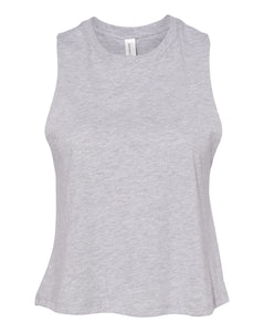 grey crop top tank top