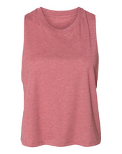 Load image into Gallery viewer, mauve crop top tank top
