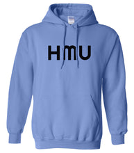 Load image into Gallery viewer, blue hmu mens pullover hoodie