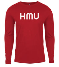 Load image into Gallery viewer, red hmu mens long sleeve shirt