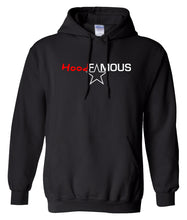 Load image into Gallery viewer, black hood famous hoodie