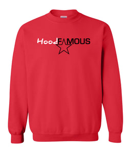 red hood famous sweatshirt