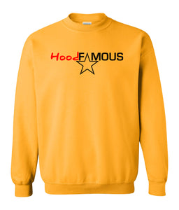 yellow hood famous sweatshirt