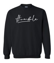Load image into Gallery viewer, black humble sweatshirt