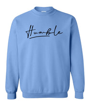 Load image into Gallery viewer, blue humble sweatshirt