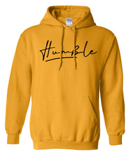 Load image into Gallery viewer, yellow humble pullover hoodie
