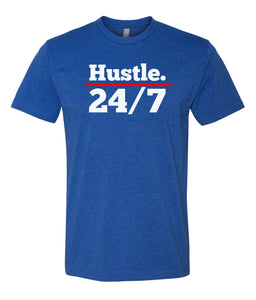 royal hustle 24/7 crewneck t shirt