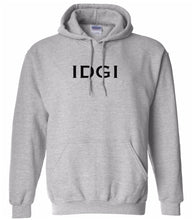 Load image into Gallery viewer, grey idgi mens pullover hoodie