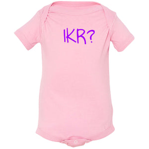 pink IKR onesie for babies