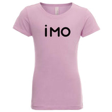 Load image into Gallery viewer, pink IMO youth crewneck t shirt for girls