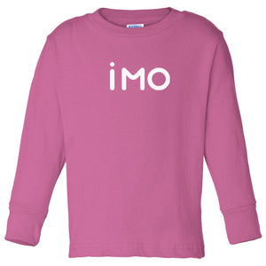 pink IMO long sleeve t shirt for toddlers