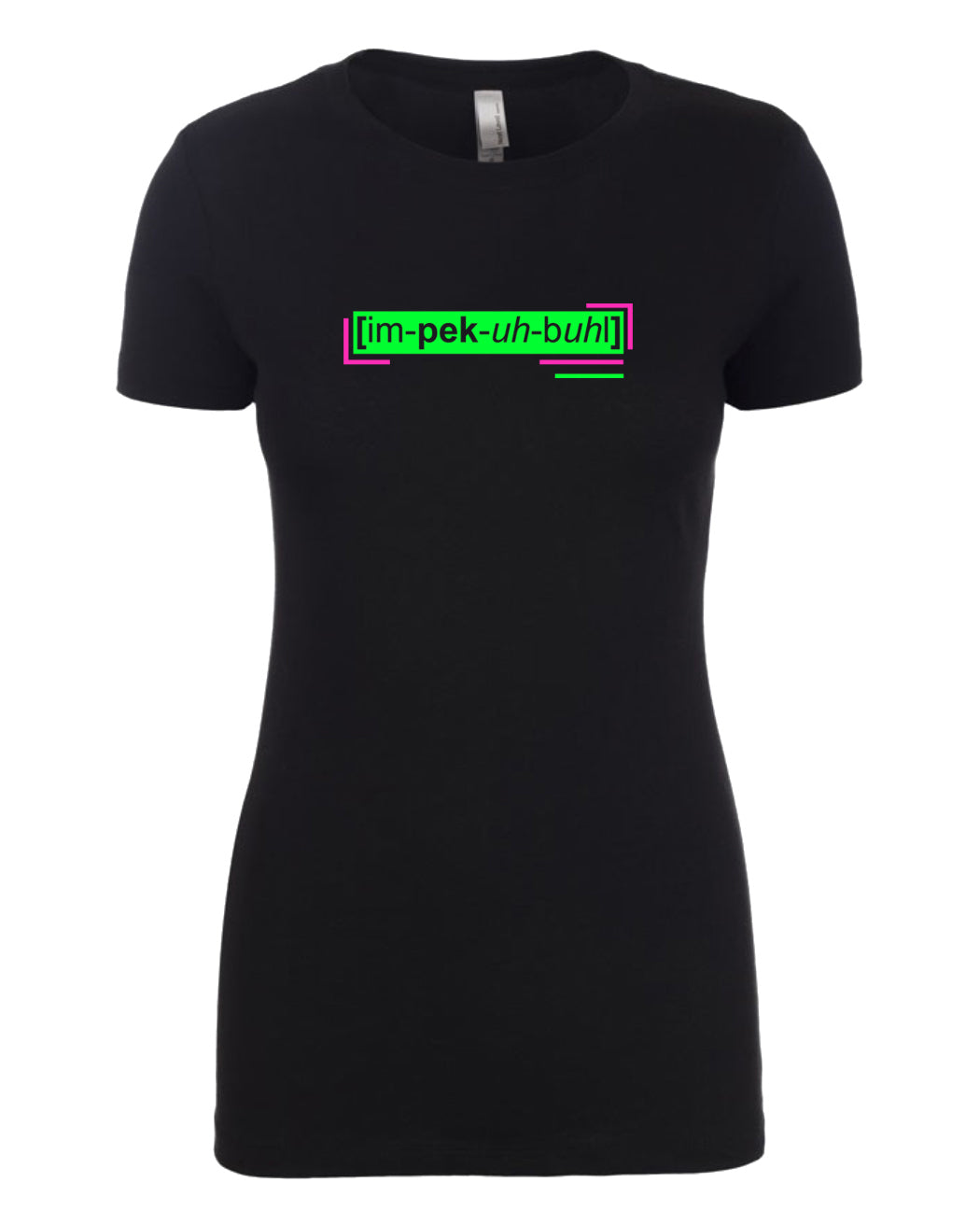 florescent green impeccable neon streetwear t shirt for women