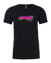 Load image into Gallery viewer, neon pink florescent impulsive men's streetwear t shirt