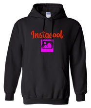 Load image into Gallery viewer, black instacool hoodie