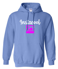 Load image into Gallery viewer, blue instacool hoodie