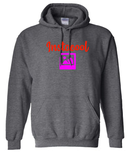charcoal Instacool pullover hoodie