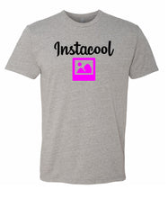 Load image into Gallery viewer, grey instacool crewneck t shirt