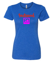Load image into Gallery viewer, royal instacool women's crewneck t shirt
