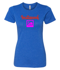 royal instacool women's crewneck t shirt