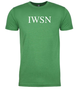 green iwsn mens crewneck t shirt
