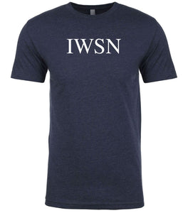 navy iwsn mens crewneck t shirt