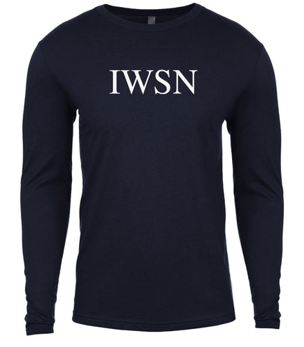 navy iwsn mens long sleeve shirt