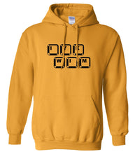 Load image into Gallery viewer, yellow iykwim mens pullover hoodie