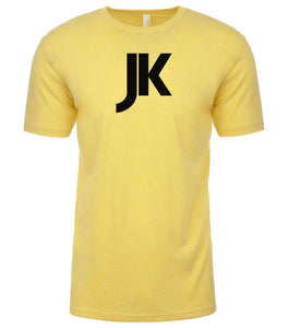 yellow jk mens crewneck t shirt