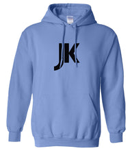 Load image into Gallery viewer, blue jk mens pullover hoodie