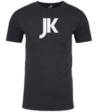 Load image into Gallery viewer, charcoal jk mens crewneck t shirt